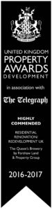 Winner of Daily Telegraph Property Awards